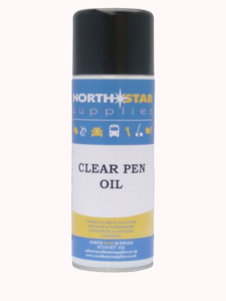 Clear Penetrating Oil 400ml - North Star Supplies